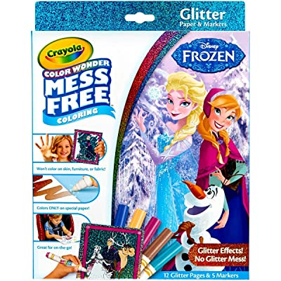Crayola Color Wonder Glitter Set, 29.21 X 22.09 X 2.28 cm: Hogar