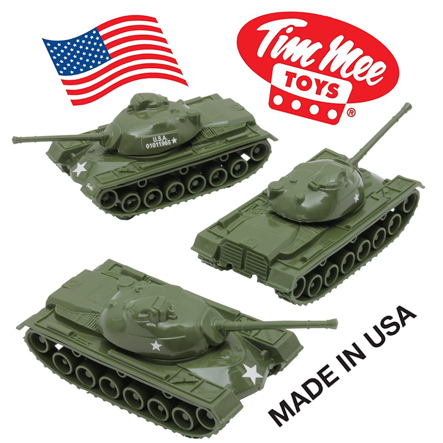 Army Toys Color : Timmee toy tanks for plastic army men green ww pc