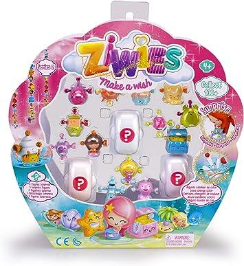 Ziwies - Pack 16 figuritas coleccionables, para niños y niñas de 4 a 8 años (Famosa 700014603): Amazon.es: Juguetes y juegos