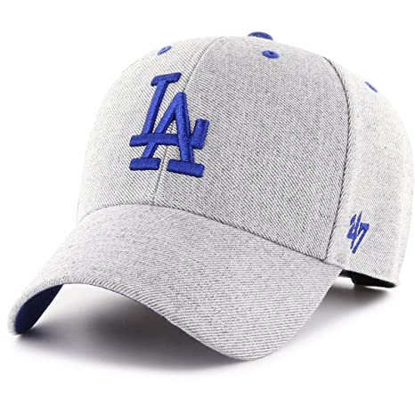 cheap for discount 6a7fc 7bcce Image Unavailable. Image not available for. Color   47 Brand Adjustable Cap  - Cloud Los Angeles Dodgers Charcoal