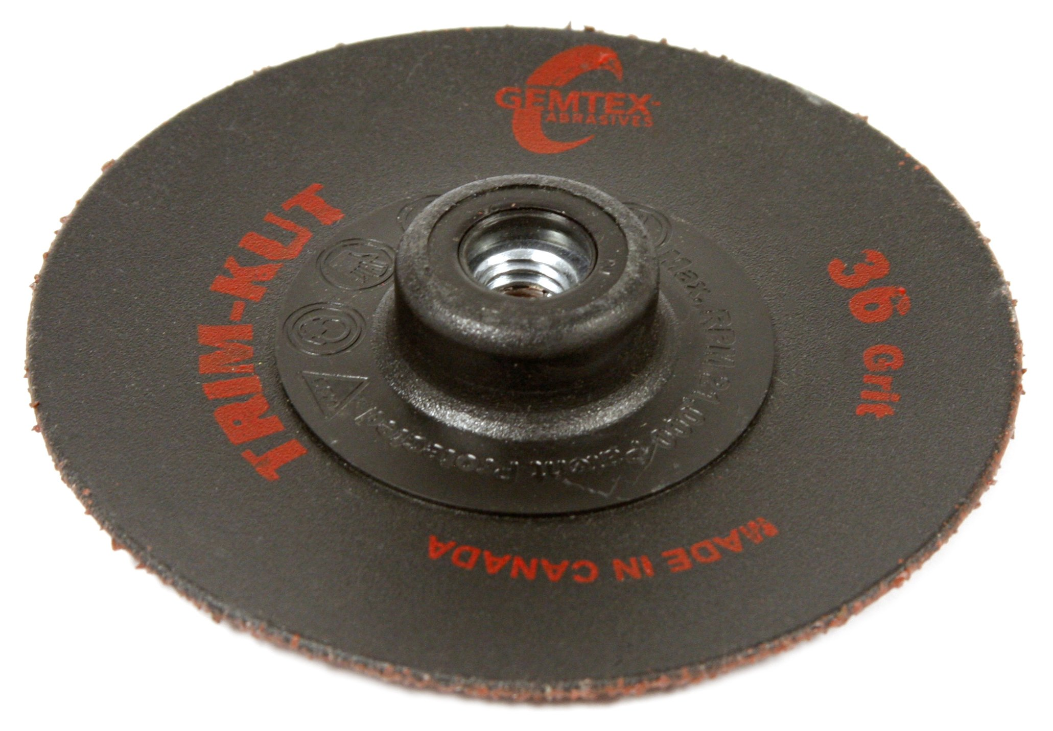 Forney 72445 Trim-Kut Type 27 Cutting Wheel, 3'', 36-Grit
