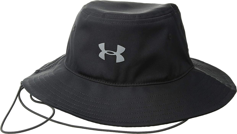 dda5bd76b86 Amazon.com: Under Armour Men's Headline Bucket Hat, Black (001 ...