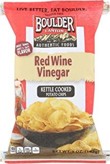 product image for Boulder Canyon Natural Foods Kettle Chips Red - Wine Vinegar - Case of 12 - 5 oz.
