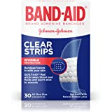 Band-Aid Brand Adhesive Bandages, Clear Perfect Blend Light All One Size, 30 Count (Pack of 3)