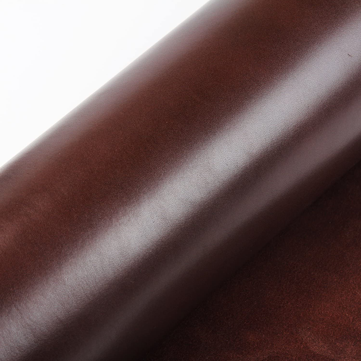 11.8x3.9 Veg-Tanned Cowhide Leather Piece for Tooling Crafting Hobby Workshop Medium Weight Pre-Cut 3.5 to 4.0 mm