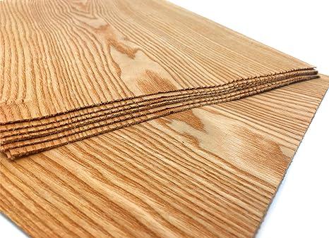 Restauration Ausbesserungsarbeiten Furnier geeignet f/ür: Modellbau Intarsien 15-17 Furniere in der Holzart R/üster zum Basteln
