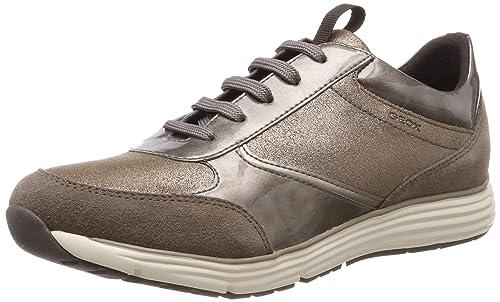 Geox Damenschuhe DONNA DYNAMIC D6405A Sportlicher Damenhalbschuh und Sneaker