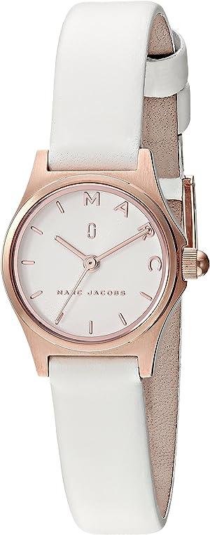 Marc by Marc Jacobs Women's MJ1610 Henry Analog Display Analog Quartz White Watch