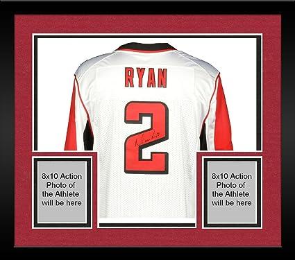 Framed Matt Ryan Atlanta Falcons Autographed Nike White Elite Jersey ... 9cab9e042