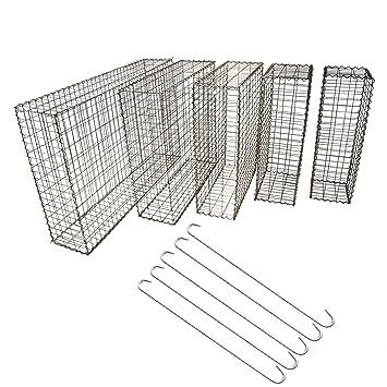 Top Multi Gabionen Steinkorb 100x80x30 Cm Verzinkter Stahldraht