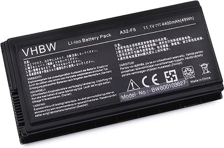 Vhbw Li Ion Akku 4400mah Für Notebook Laptop Asus Pro Computer Zubehör