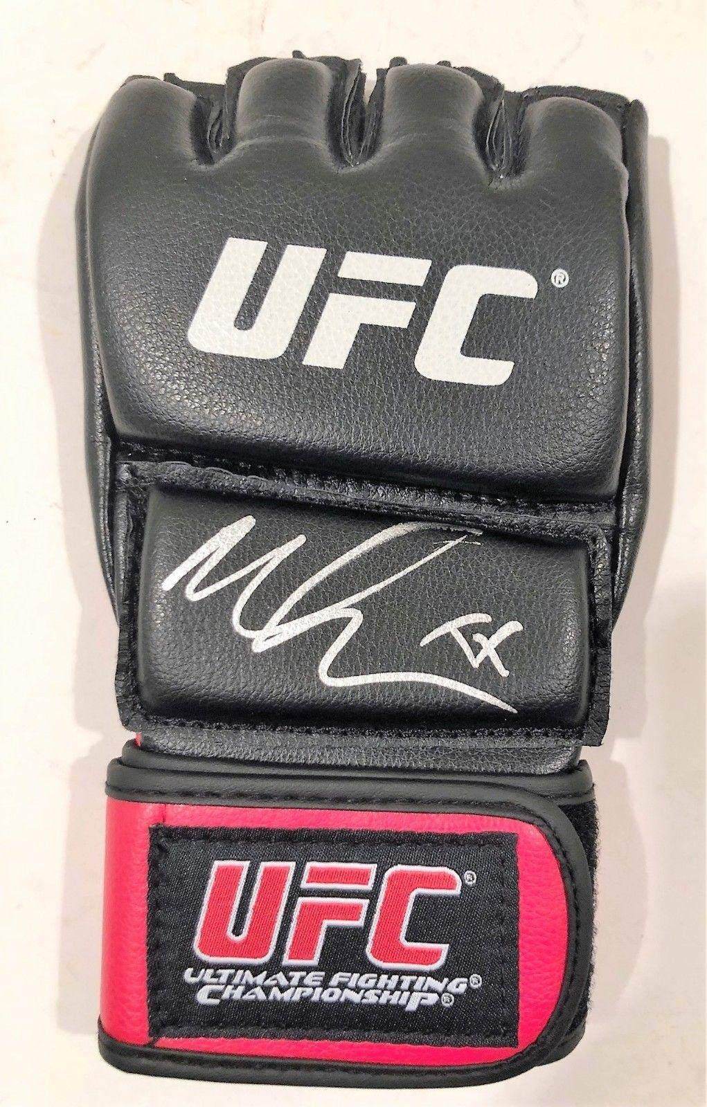 Megan Anderson Signed UFC Training Glove w/COA MMA Fighter Autographed MLB Gloves