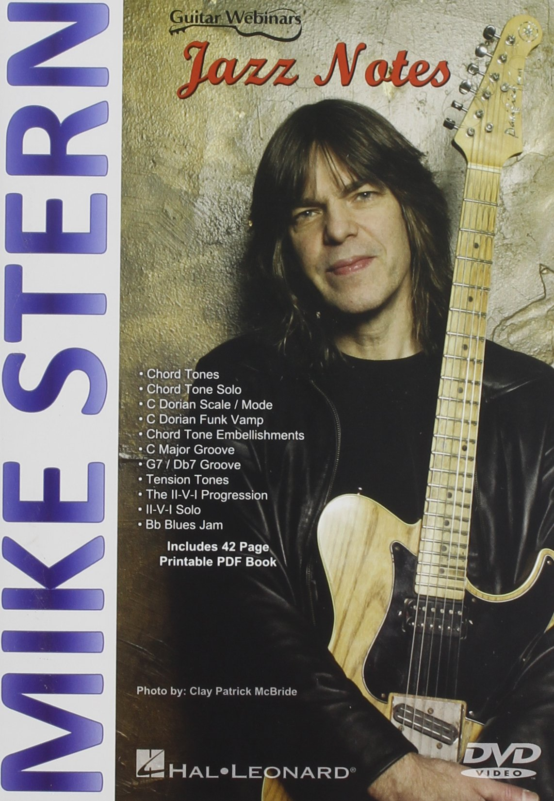 DVD : MIKE STERN - Jazz Notes (DVD)