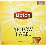 Lipton Thé Yellow Label 100 Sachets 200g