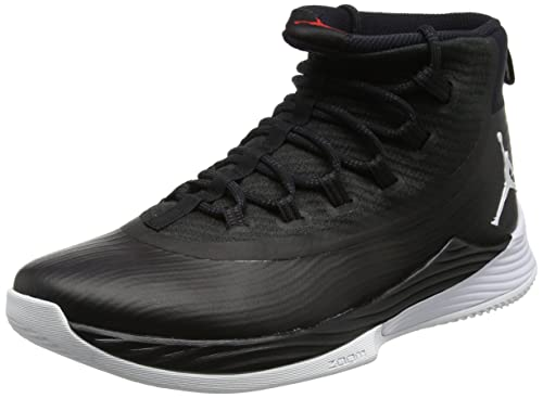 quality design 9ecf4 dc231 Nike Jordan Ultra Fly 2 Scarpe da Basket Uomo, Multicolore (BlackWhite