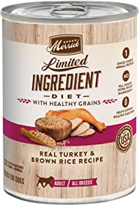 Merrick Limited Ingredient Diet Canned Wet Dog Food (Case of 12)