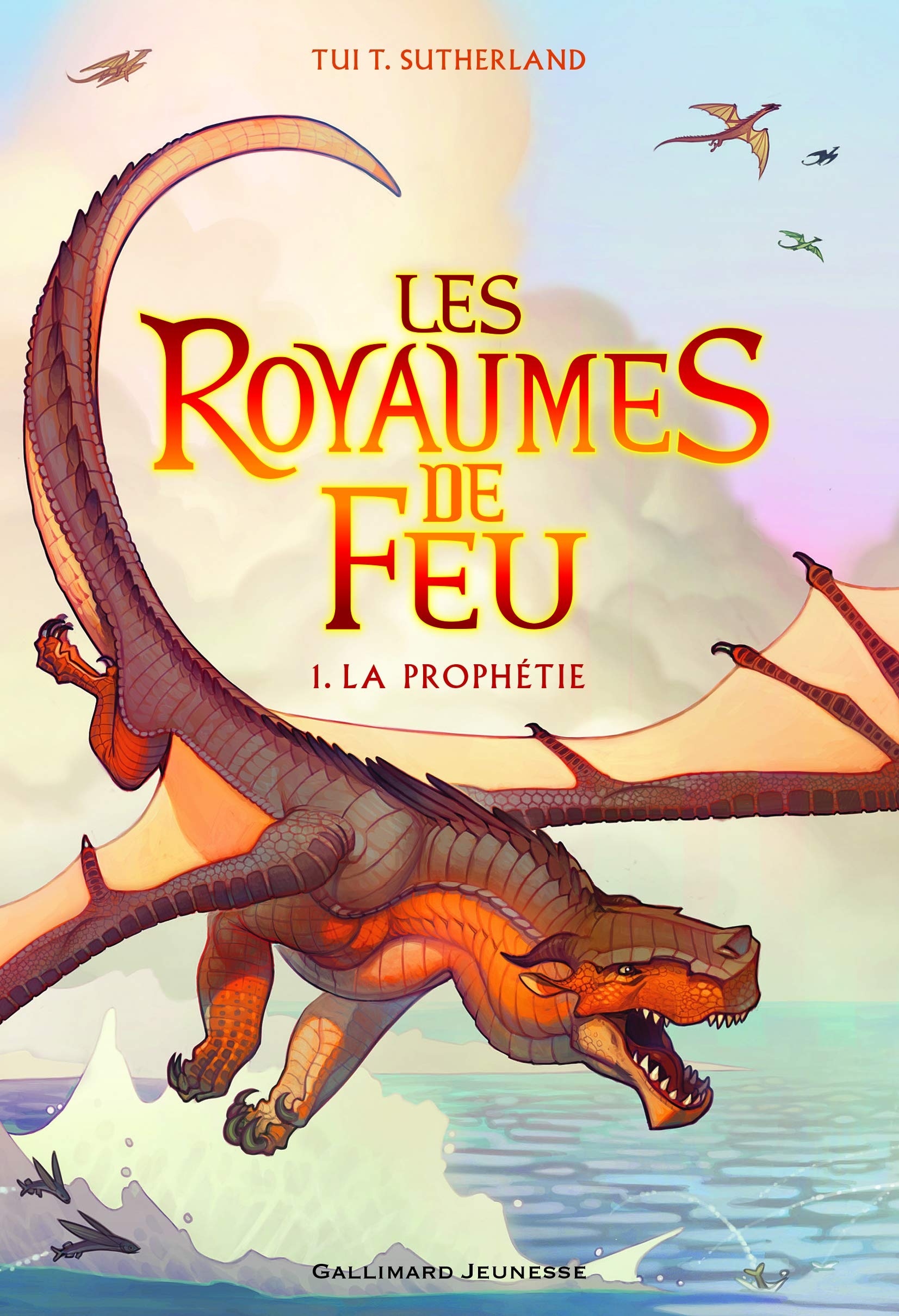 Les Royaumes de Feu, 1: La Prophétie (Romans Junior) (French Edition):  Sutherland, Tui T., Rubio-Barreau, Vanessa: 9782070661831: Amazon.com: Books
