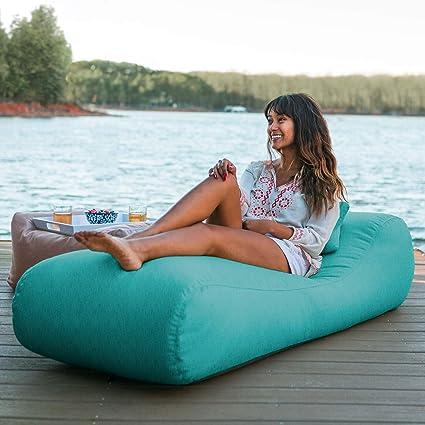 Amazon.com: Jaxx Arlo – Puf para exteriores con tumbona ...