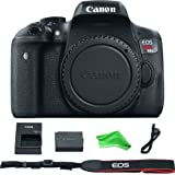 Canon EOS Rebel T6 Digital SLR Camera Body + DigitalAndMore Cloth (Body, Basic Bundle)