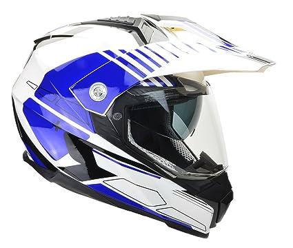 e7b24ed4 Vega Helmets Cross Tour 2 Dual Sport Helmet with Internal Sun Visor – Full  Face Motorcycle