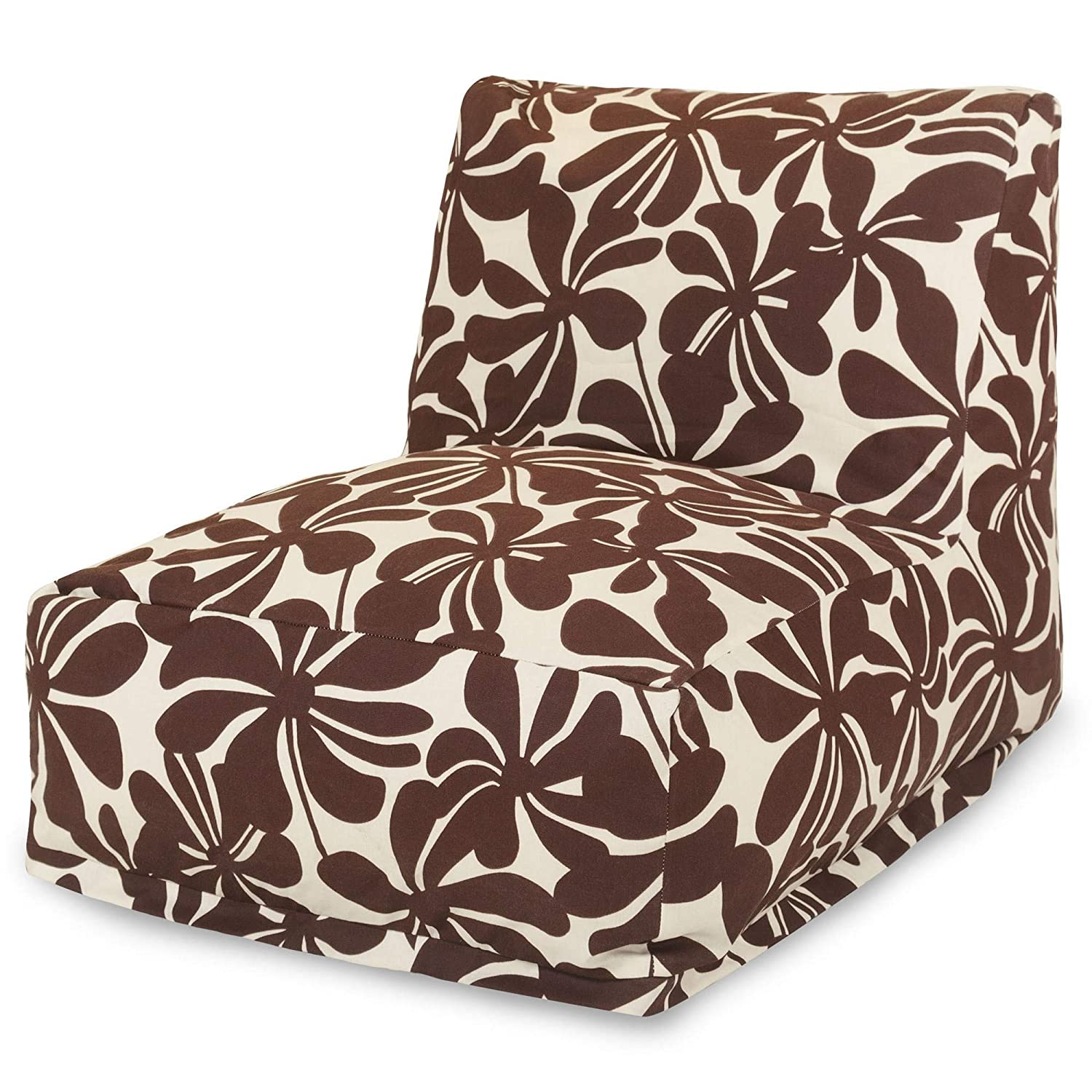 Majestic Home Goods Red Plantation Bean Bag Chair Lounger