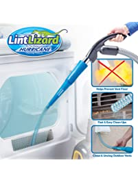 Hurricane Official As Seen On TV Lint Lizard Vacuum Hose Attachment by BulbHead, Removes Lint from Your Dryer Vent, Power...