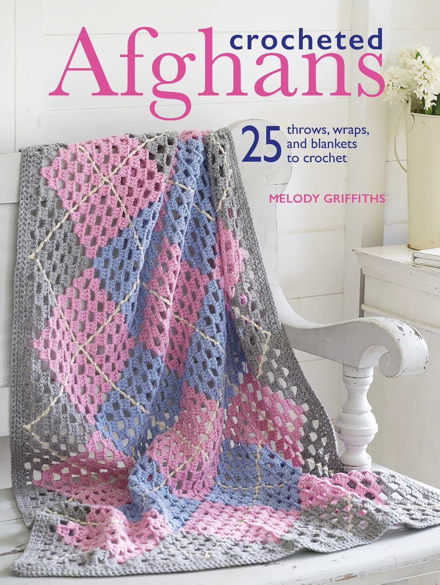 EASY-TO-CROCHET RIPPLE THROWS ~ NEW ~ SALE ITEM