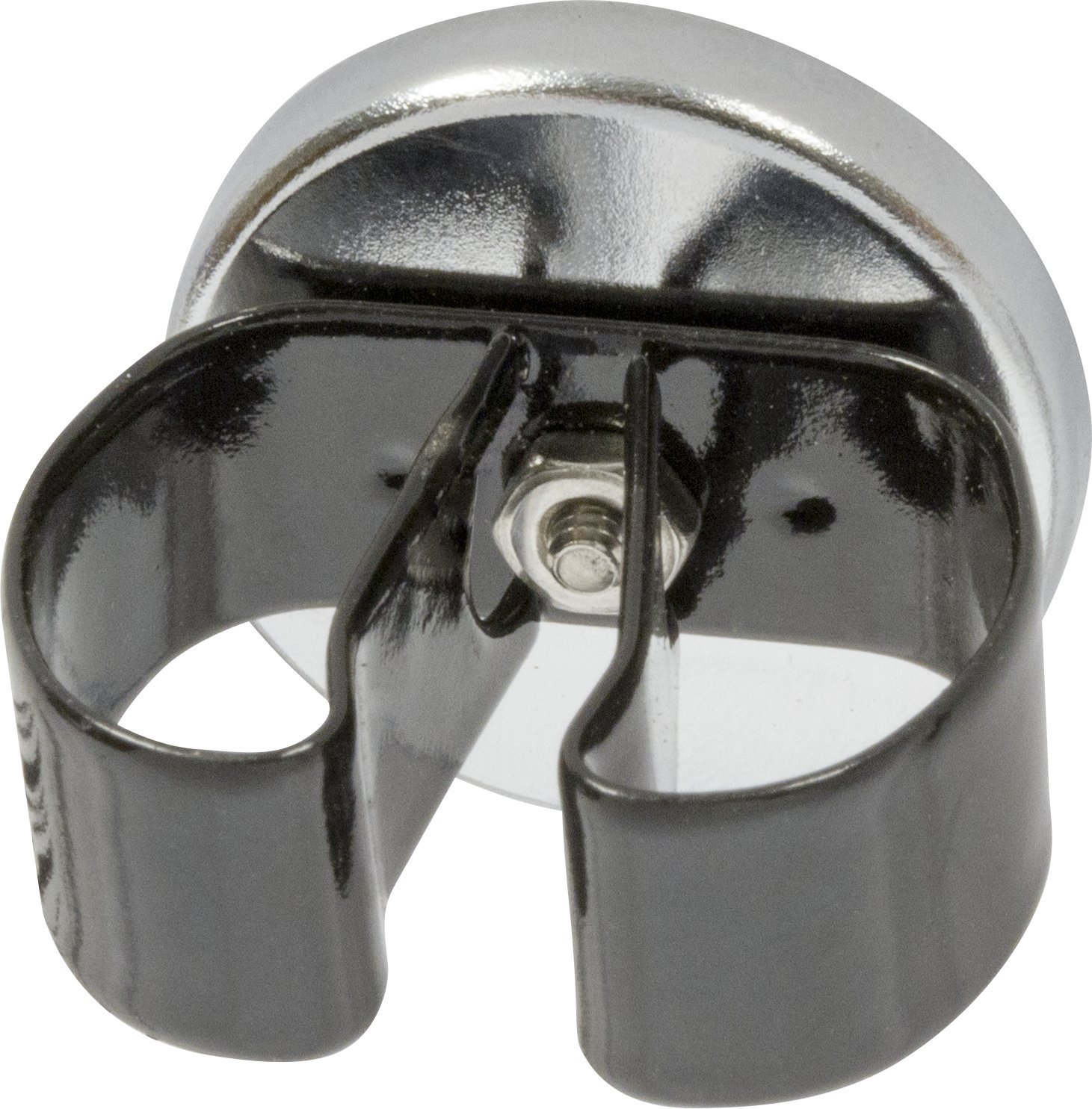 7 lb Industrial Magnetics Inc MAG-MATE MX1000VB01 Cup Magnet with Black Vinyl Spring Clamp