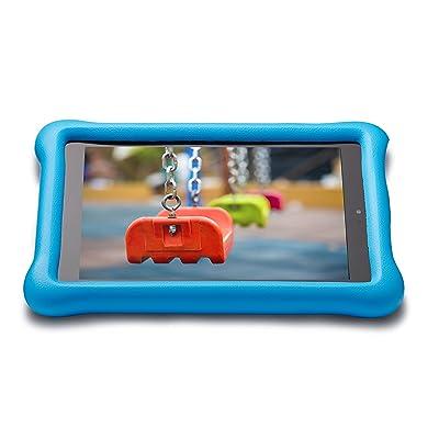 Amazon - Funda infantil para el Fire HD 8 (6ª generación, modelo de 2016), color azul