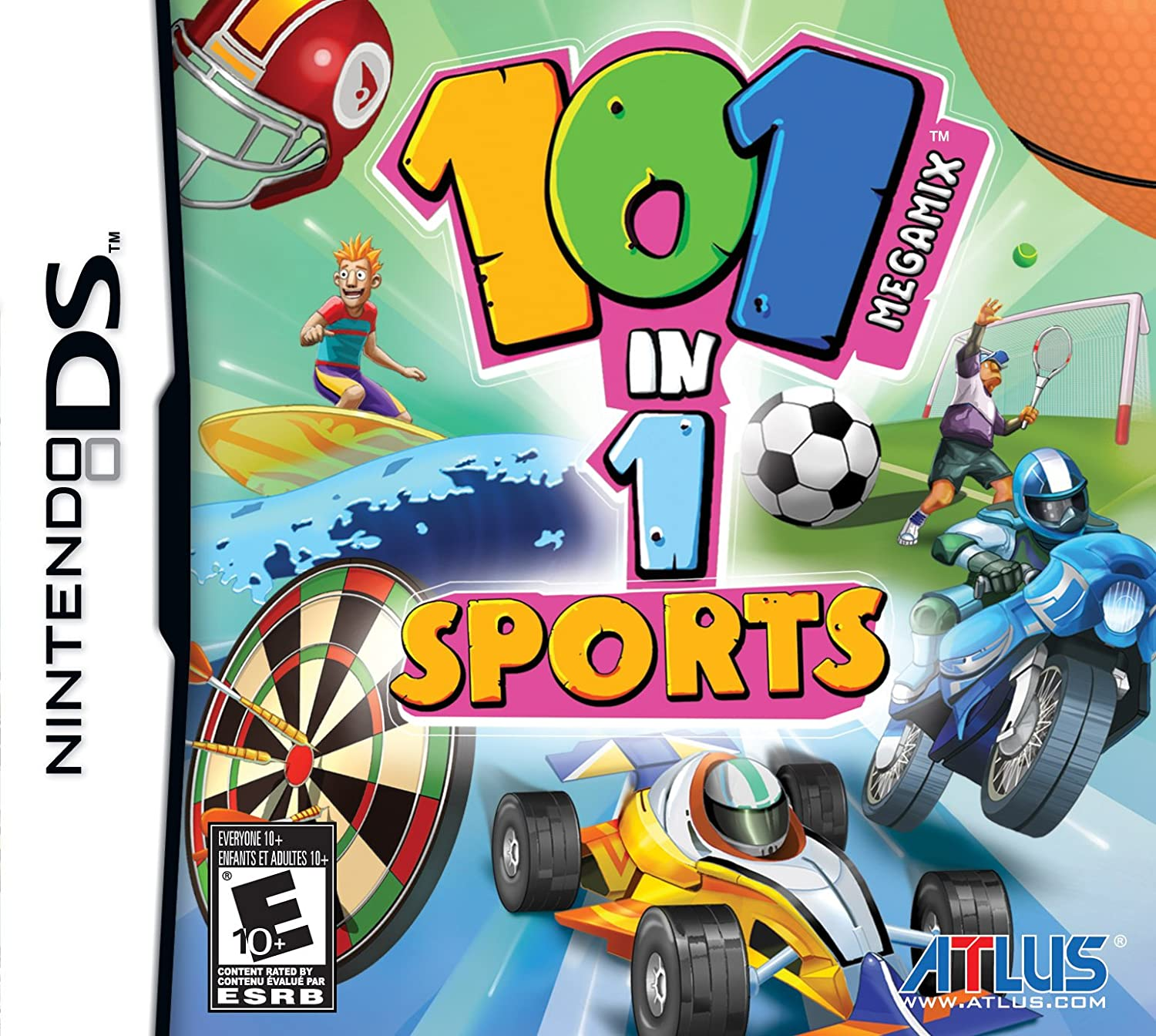 amazon com 101 in 1 sports nintendo ds video games
