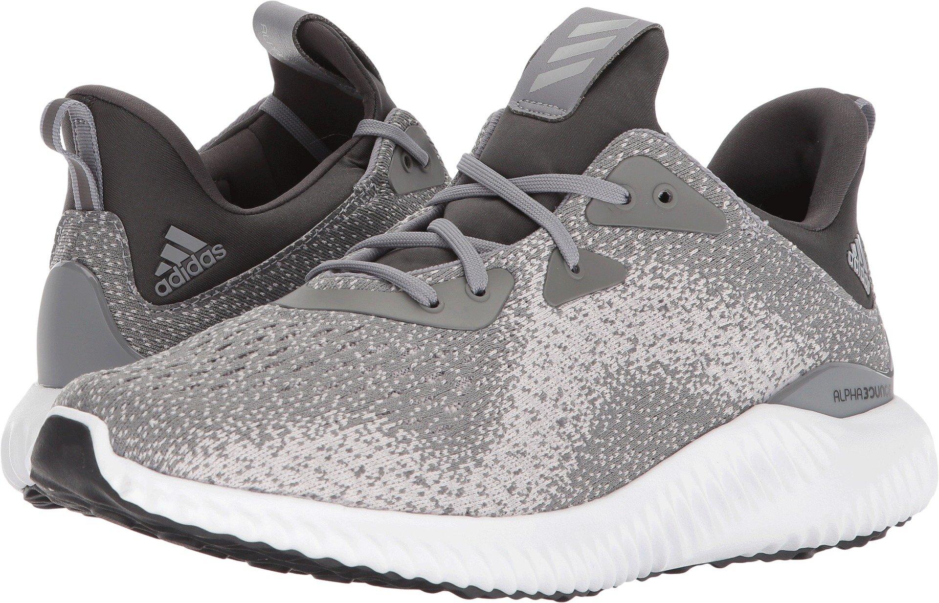 adidas Men's Alphabounce Em m, Grey Three/Grey Two/Dark Solid Grey, 13 Medium US