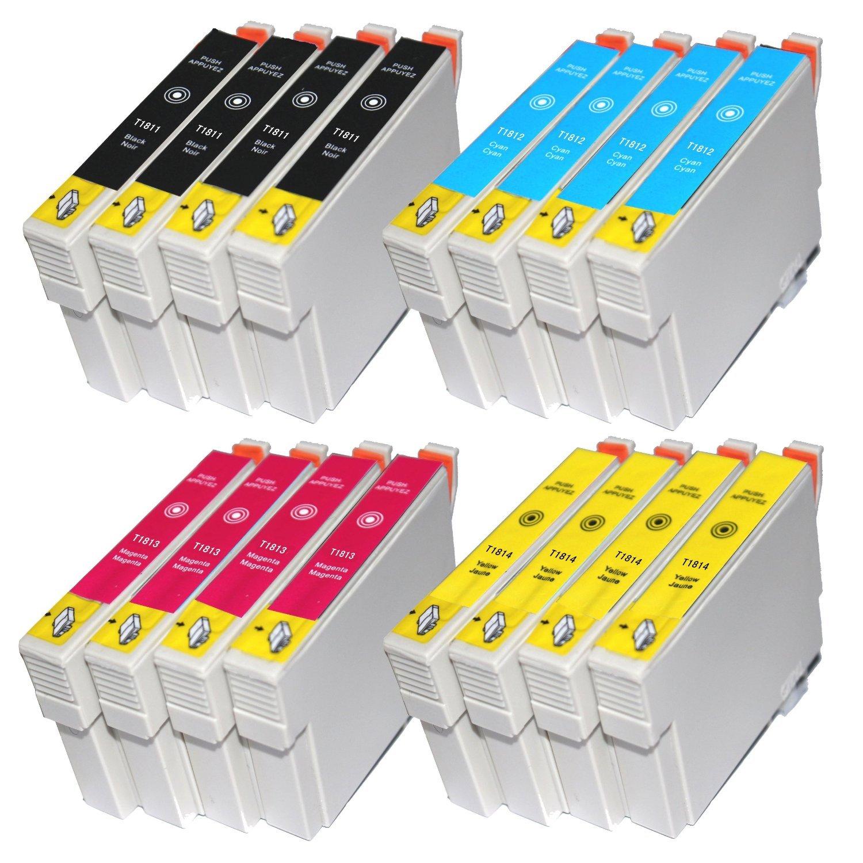 16 Compatible T1811-T1814 cartuchos de tinta para Expression Home ...