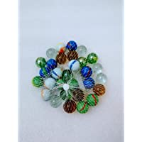Marbles for Jakaro game 30 pieces assorted colors