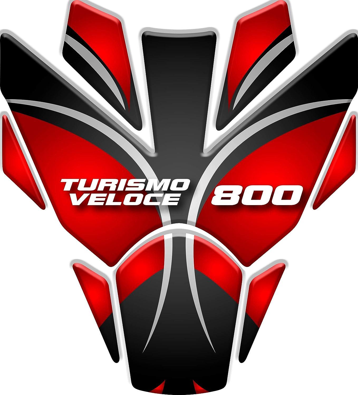 Tankpad Motorad Draht Muster Tankschutz KOMPATIBEL von A.gusta Turismo Veloce 800 v1