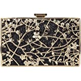 Fawziya Floral Evening Bags and Clutches Glitter Envelope Clutch Bags for Women