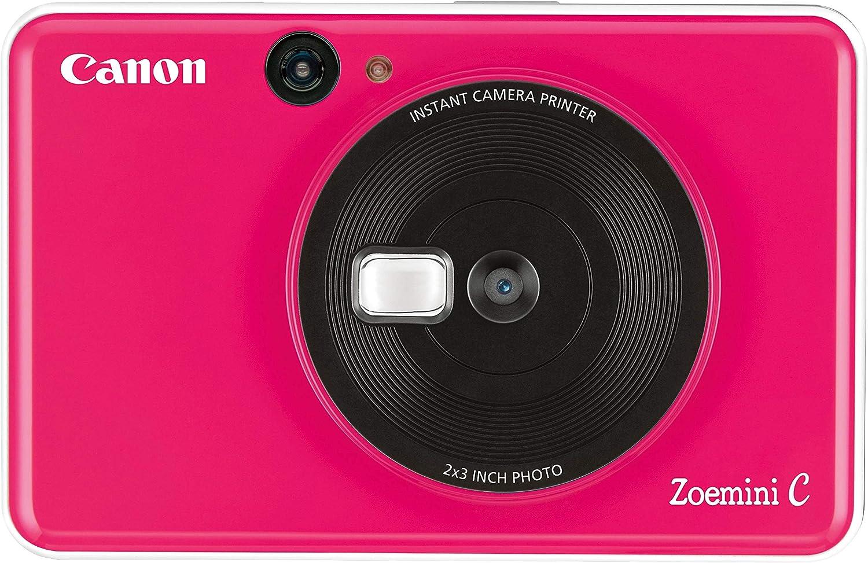 كانون، كاميرا فورية، 5.0 ميجابكسل، بلوتوث، وردي