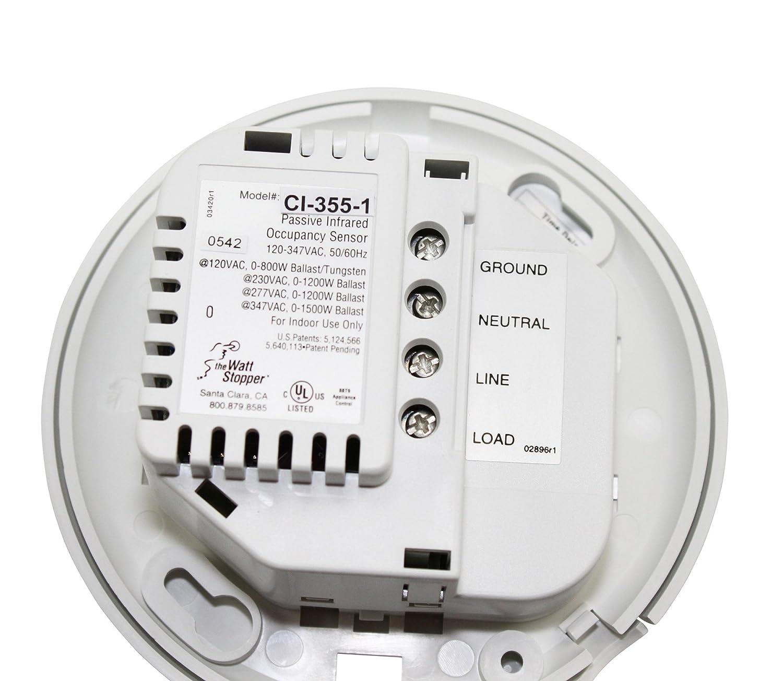 Amazon wattstopper ci 355 occupancy sensor home improvement sciox Image collections