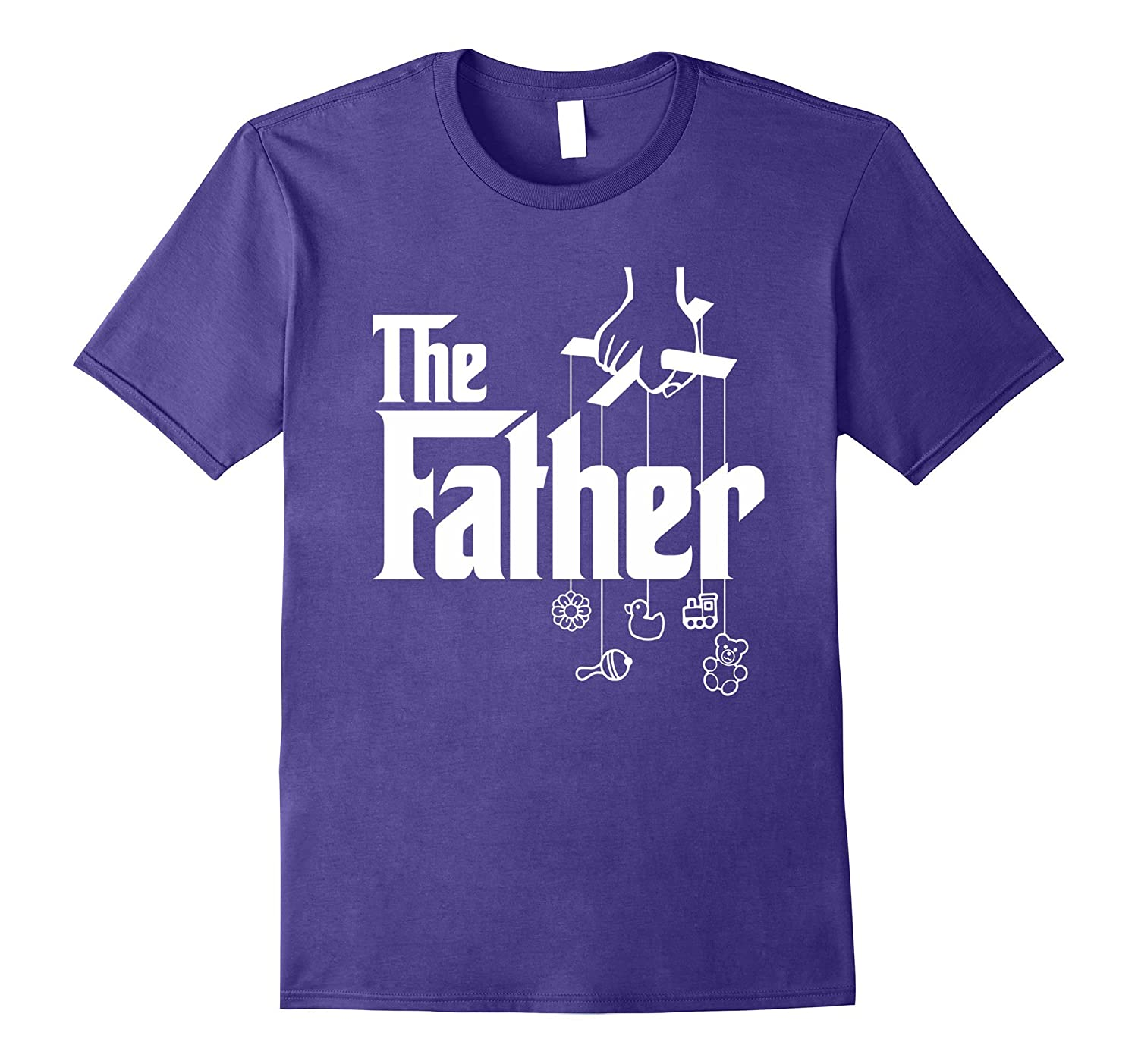 Mens The Father First Time Fathers Day New Dad Gift T-Shirt-PL
