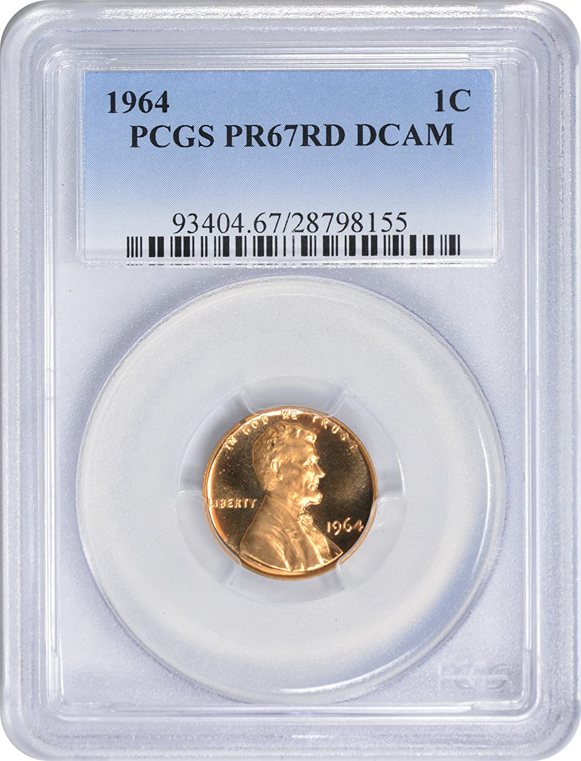 1970-S Lincoln Cent PCGS PR67RD Small Date