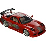 JADA TOYS 98338R Mazda RX-7 - Fast And Furious - 1995 - Echelle 1/24 - Rouge