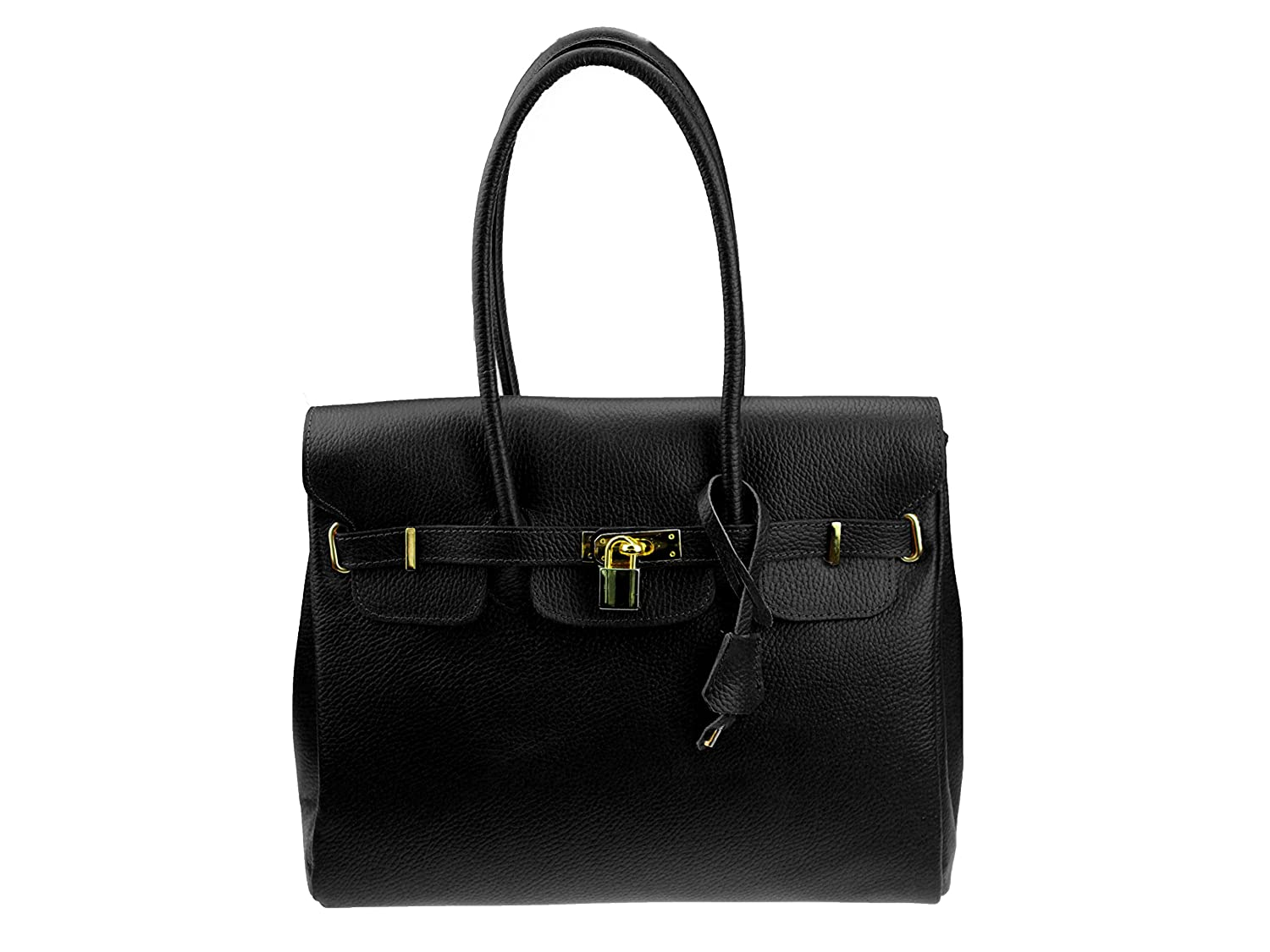 """Luxury Ladies'""""Milano"""" Real Leather Bag (made in Italy Messenger"""