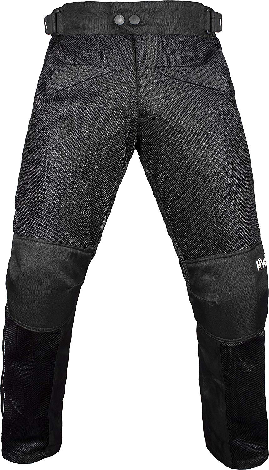 HWK Mesh Motorcycle Pants Air Motocross Dualsport Enduro ADV Touring Riding CE ARMORED Pants Motorbike Overpants Trousers (Waist42''-44'' Inseam32'') by HWK