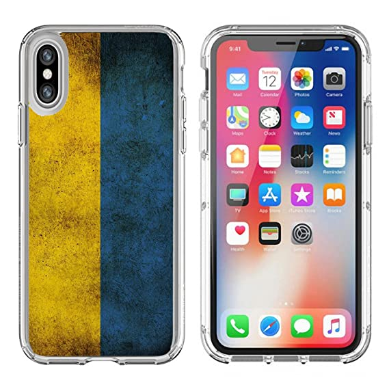 Amazon Com Msd Apple Iphone X Clear Case Soft Tpu Rubber