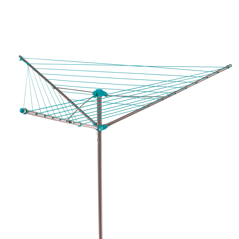 Vileda Universal Tendedero X-legs de acero con alas plegables dimensiones abierto 180x55x93 cm 18 metros de espacio de tendido compacto y f/ácil de guardar color blanco