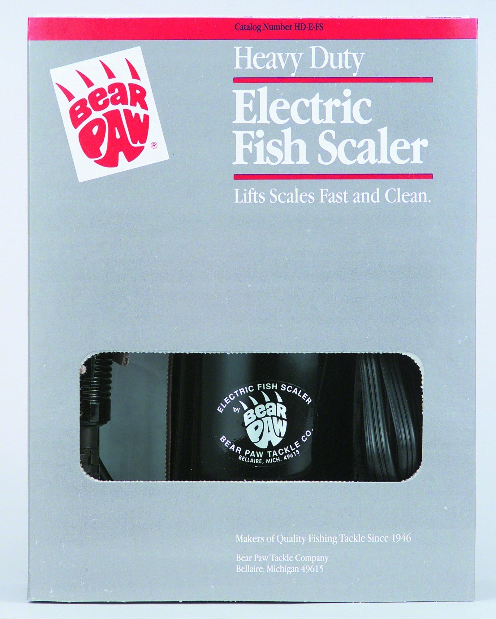 Bear Paw HDEFS Heavy Duty Electric Fish Scaler