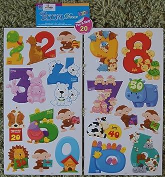 great ebabystore alfabeto carta nmero animal adhesivos decorativos para muebles de pared with papel adhesivo decorativo muebles