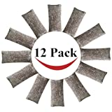 Amazon Price History for:12 Pack Natural Air Purifying Bags and Odor Remover, Shoe Deodorizer and Odor Eliminator 100% Natural Non-Toxic