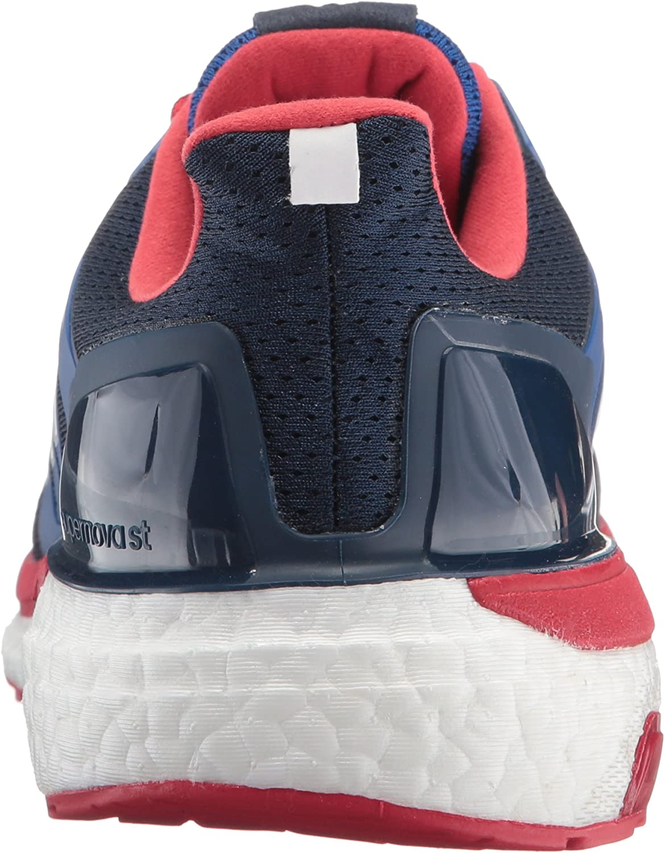 adidas Men's Supernova St Running Shoe Collegiate Navy/White/Scarlet