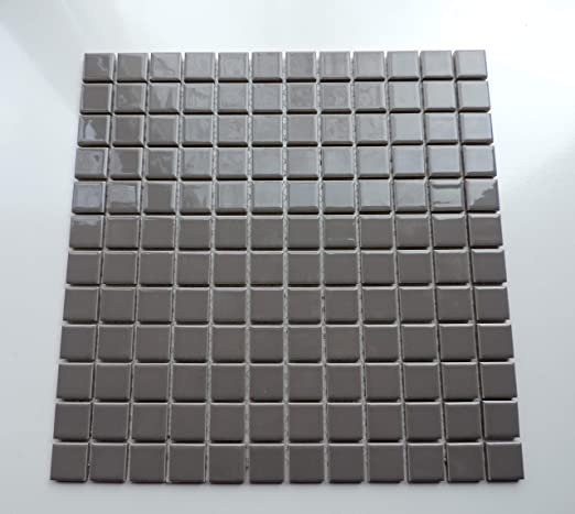 Amazon.com: 1/4 Sheet Sample - Glazed Porcelain Mosaic Tile ...