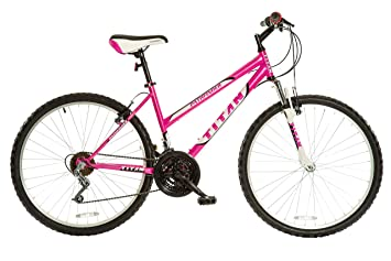 Titan Pathfinder 18 Speed Women S Mountain Bike With